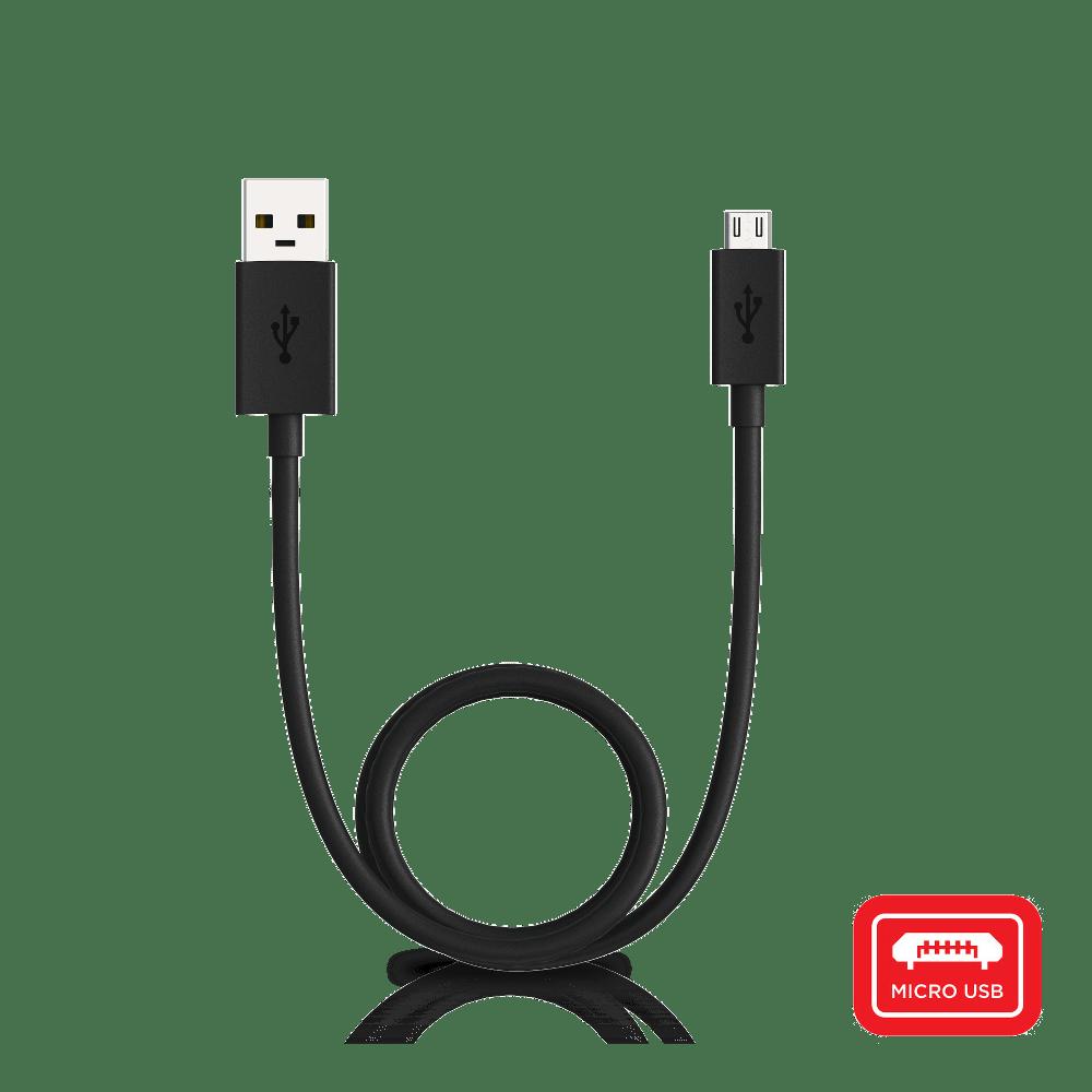 USB-A to Micro-USB-Black