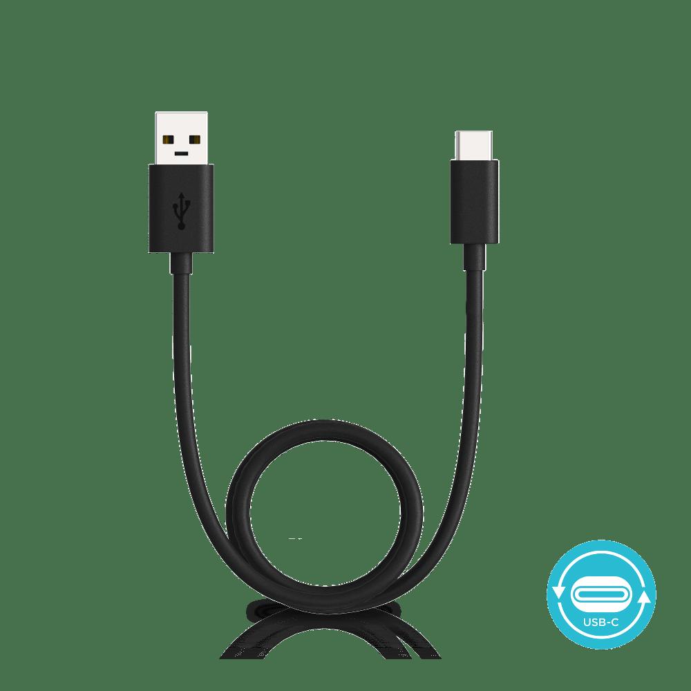usb-c cable black 3.3ft