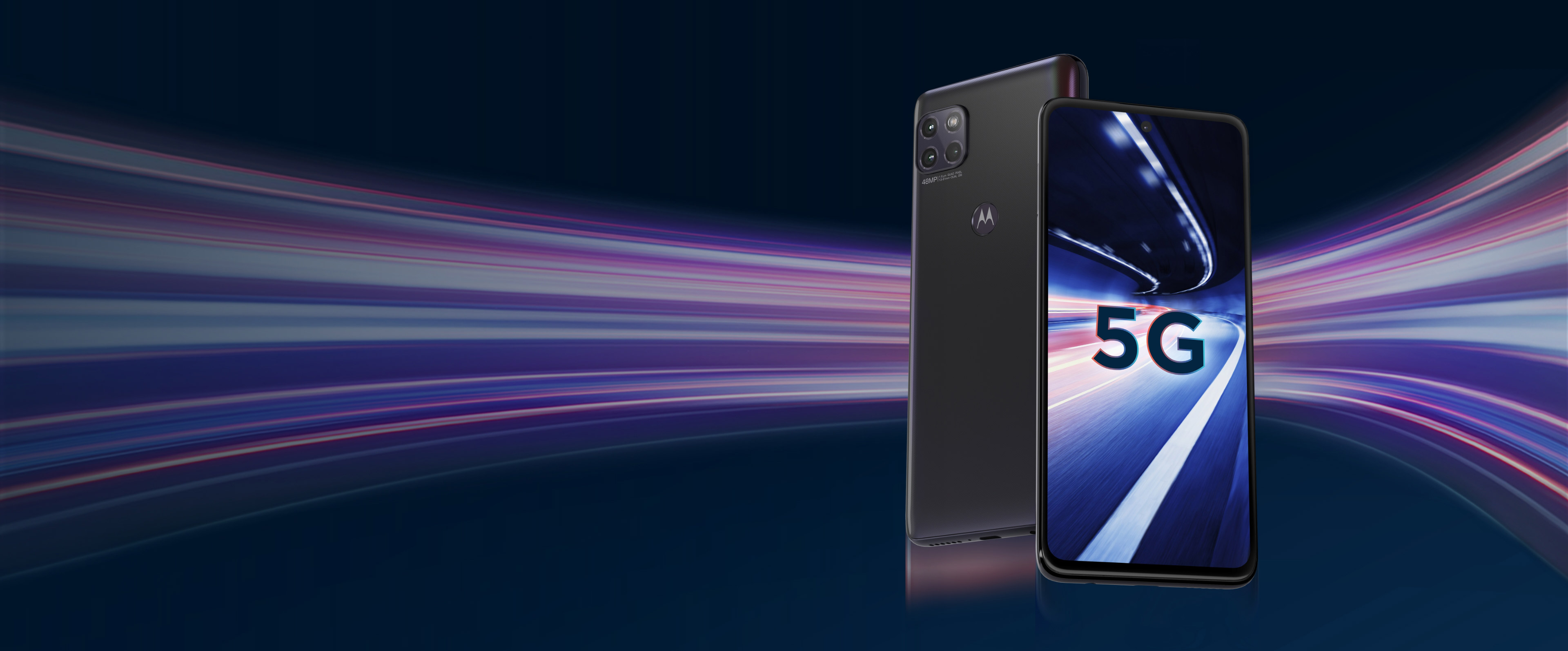 <br>5G SPEED. A FASTER FUTURE FOR ALL.